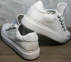 Стильные женские кроссовки Molly shoes 557 Whate