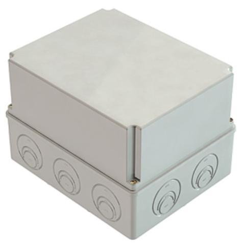 Распаячная коробка ОП 240х195х165мм, крышка, IP44, кабельные ввода d28-3 шт., d37-2 шт., TDM