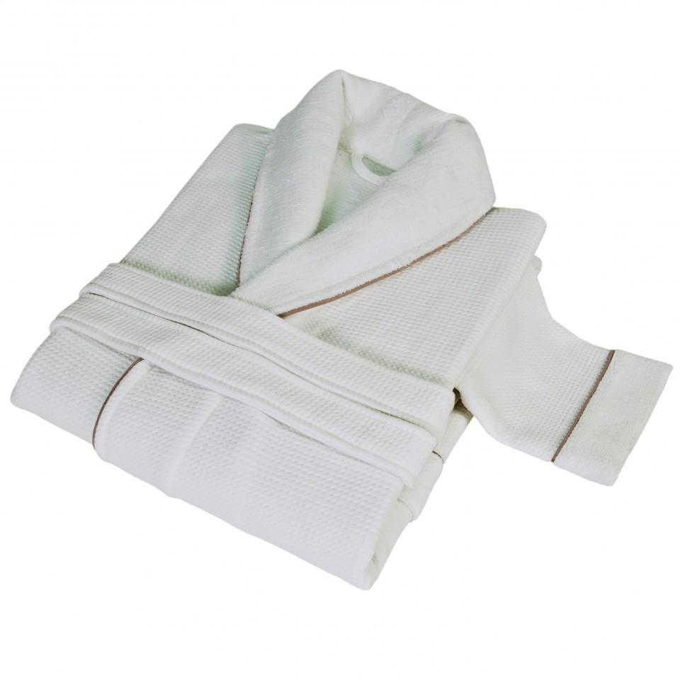 Элитный халат мужской Tosya белый от Hamam