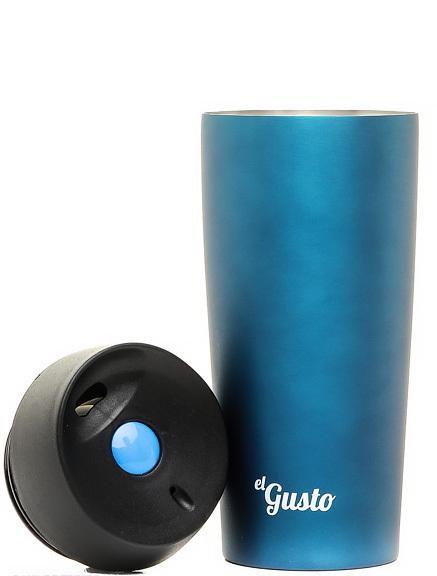 Термокружка El Gusto Grano (0.47 литра) синяя