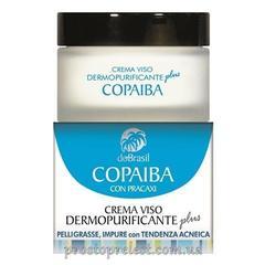Dobrasil crema viso dermopurificante copaiba plus - Крем очищающий с маслом копаиба