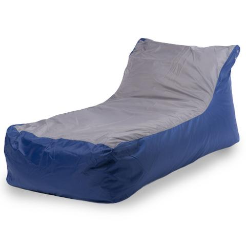 Кресло-мешок «Кушетка» Сине-серый