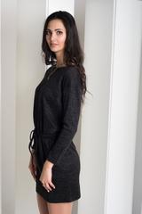 Ксена. Практичное молодежное платье. Черный