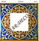 Эскиз для росписи, Зеркало 29/29см, SMAR-zm-11