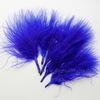 Перья декоративные (цвет - синий) 7-10 см, 5 гр