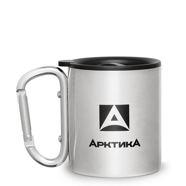 Термокружка Арктика (0,2 литра) полированная, стальная