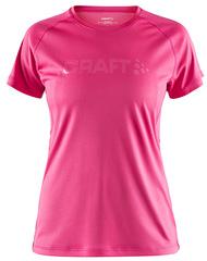 Футболка беговая Craft Prime Run Pink женская