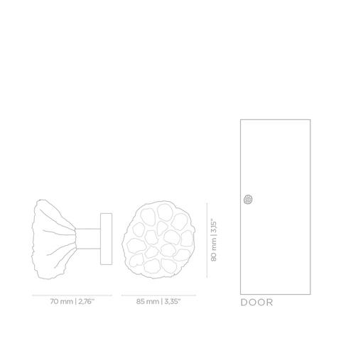 Дверная ручка PullCast COMB EA1049