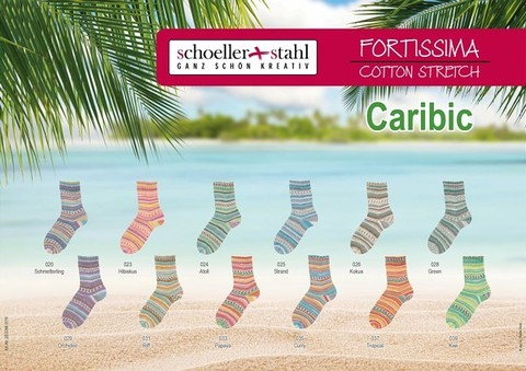 Fortissima Cotton Stretch Caribic 28