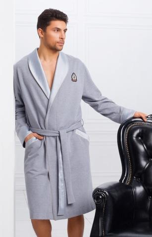 Мужской облегченный халат 30202  Laete Турция
