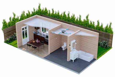 Вытяжная система вентиляции ДомВент Norvind Country