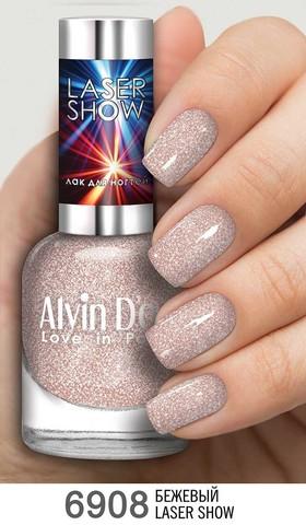 Alvin D`or Лак для ногтей LASER SHOW тон 6908