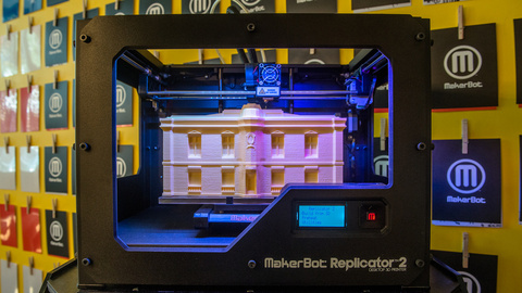 3D-принтер MakerBot Replicator 2