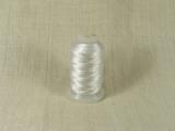 Шелковая нить, толщина 0,38 мм (FF), белый (1 метр)