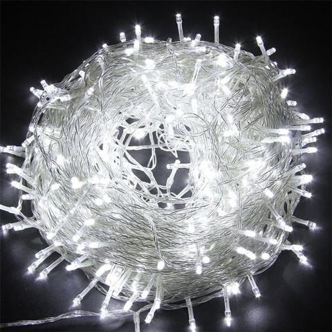 Гирлянда Новогодняя для украшения дома елки светодиодная