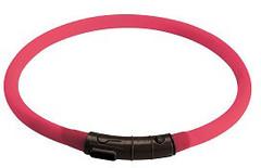 Светящийся шнурок на шею Hunter LED Yukon 20-70 см розовый