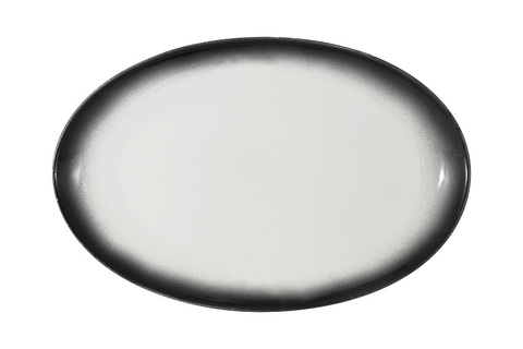 Тарелка овальная Икра (гранит) без инд.упаковки