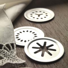 Cookie press machine Marcato Biscuits Designe silver