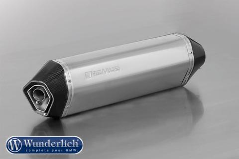 Глушитель REMUS HexaCone silencer - серебро