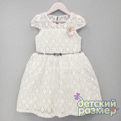 Платье (гипюр с геометрией)