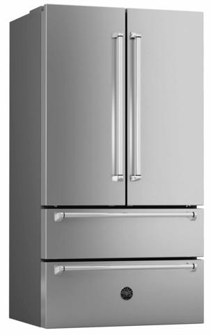 Холодильник French Door Bertazzoni REF90X, ручки Master