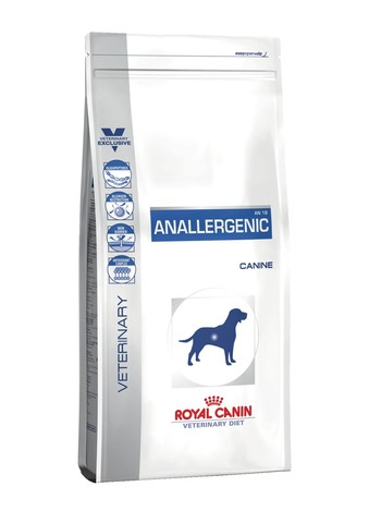 Royal Canin для собак при пищевой аллергии или непереносимости с гиперчувствительностью