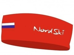Повязка NordSki Active Red Rus NEW