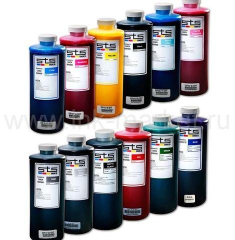 Комплект пигментных чернил STS для плоттеров Canon imagePROGRAF iPF5000, iPF5100, iPF6000, PF6100, iPF6200, iPF6300, PF6350, iPF6400, iPF6300, iPF6350, iPF8000, iPF8100 (12x1000мл)