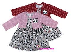 1104 платье панда