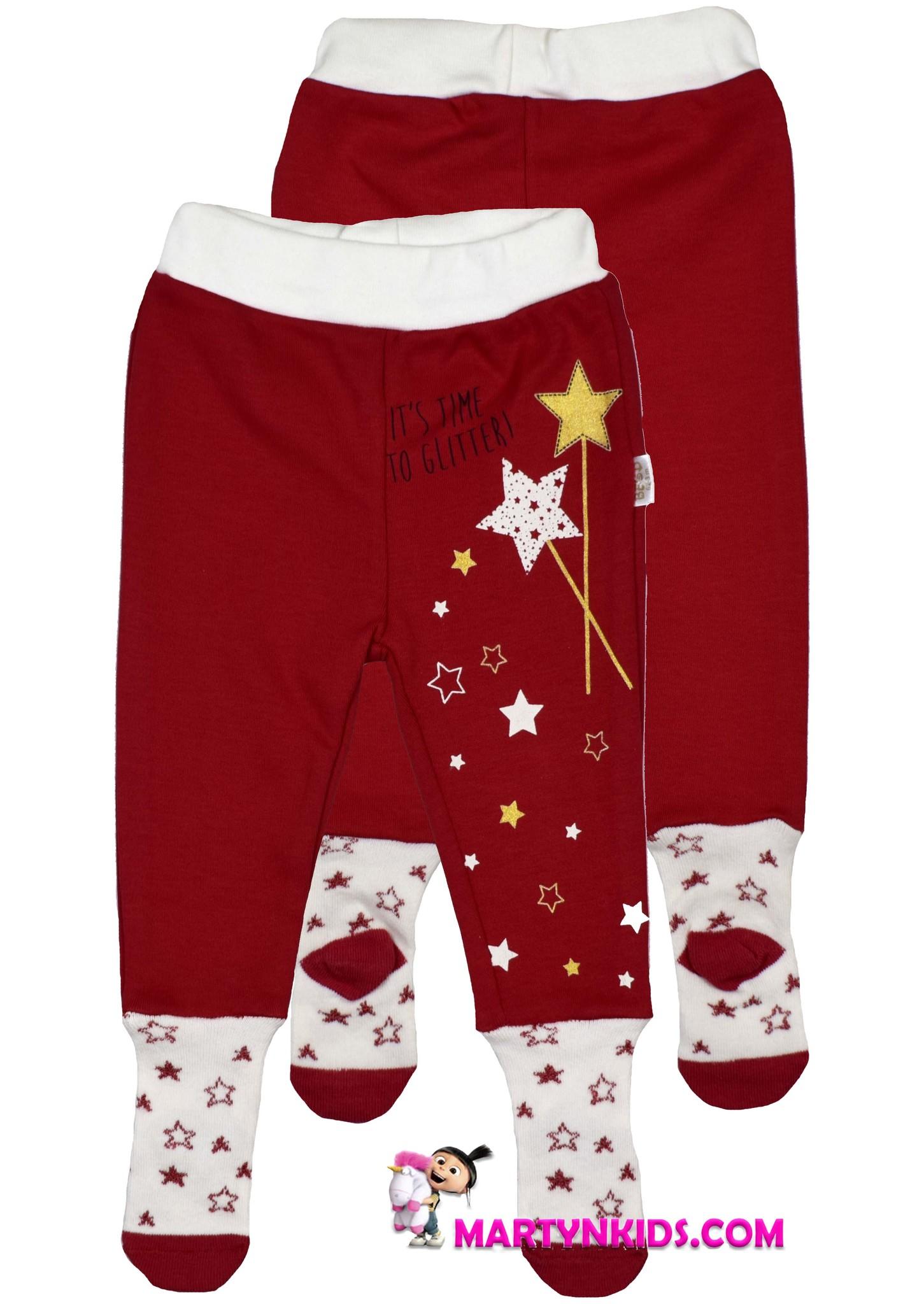 2068 колготки - штанишки с носочками Звездочки