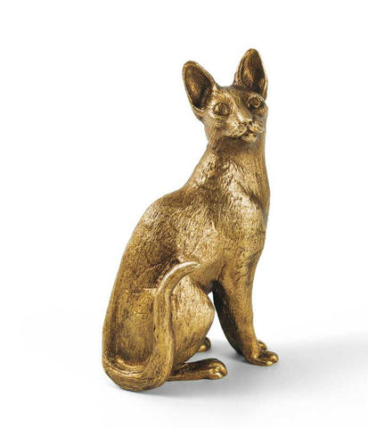 Корниш-рекс кот (бронза)
