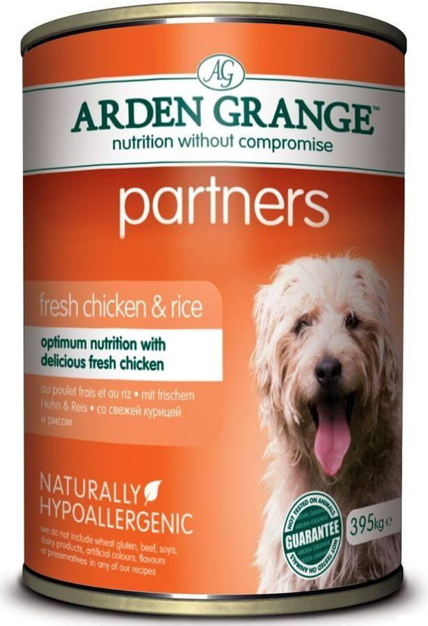 Каталог Консервированный корм для собак, Arden Grange Partners Chicken & Rice, с цыпленком, рисом и овощами AG819015.jpg