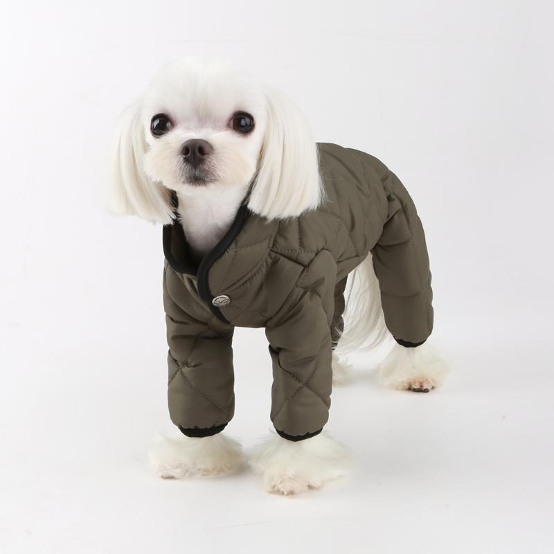 купить стеганный комбинезон для собаки мальчика