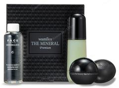 Набор на основе линии The Mineral Premium в мягкой упаковке (Wamiles | Наборы | The Mineral Collection)