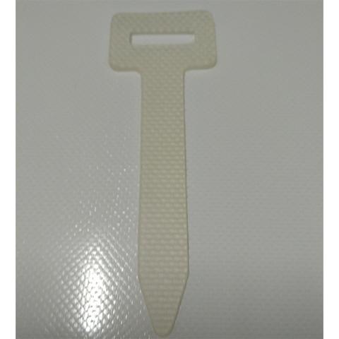 Ремень для люверсов прямоугольных 27х8 белый (силикон)