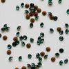 1028 Стразы Сваровски Emerald PP 6 (1,3-1,35 мм), 20 штук