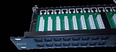 Патч-панель 19 1U высокой плотности цена RIPO
