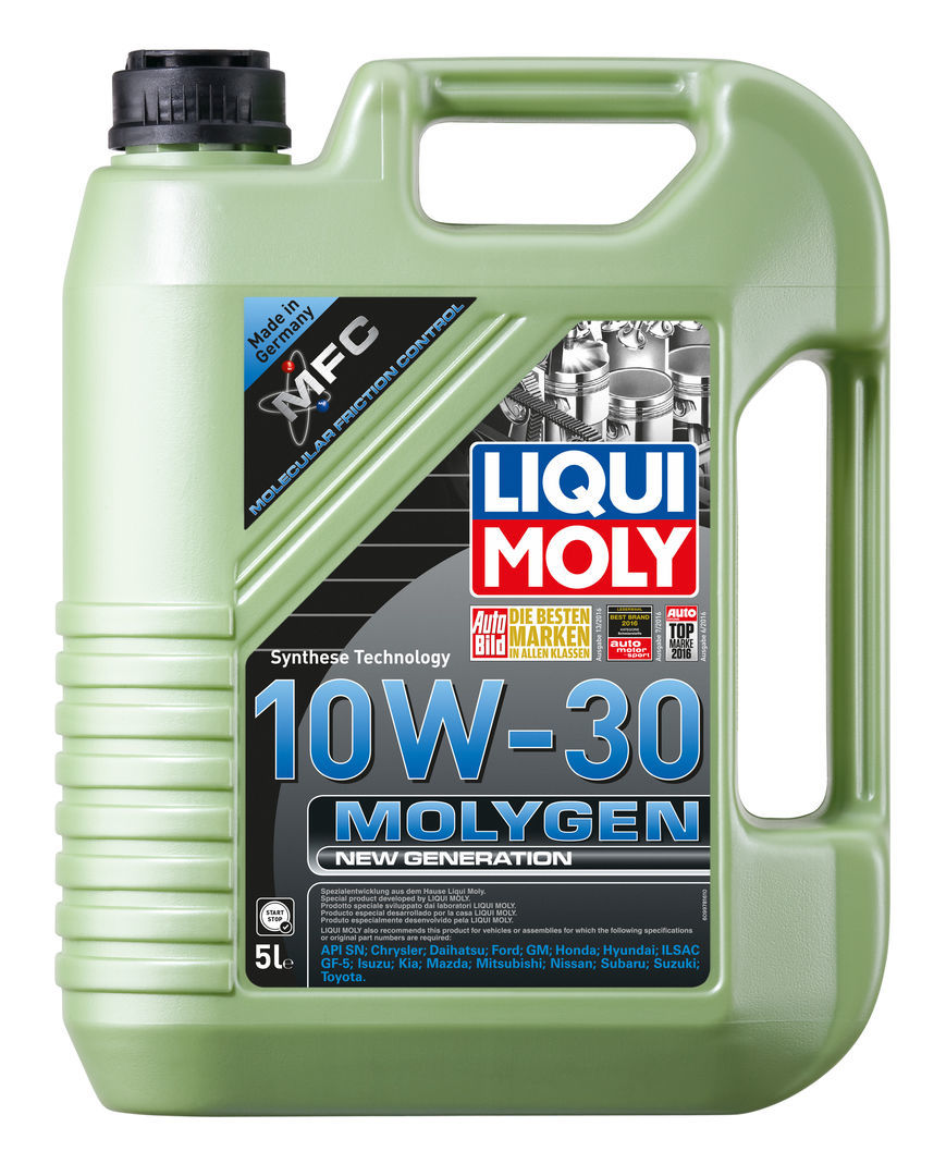 Liqui Moly Molygen New Generation 10w30 НС синтетическое моторное масло