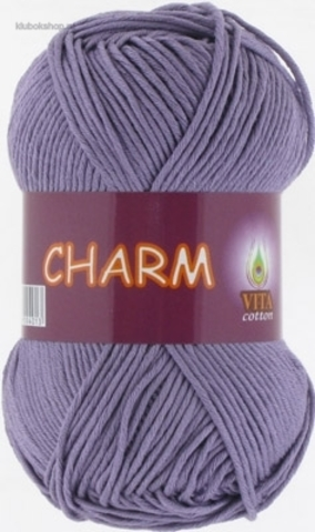 Пряжа Charm (Vita cotton) 4501 Светло-сиреневый - купить в интернет-магазине недорого klubokshop.ru