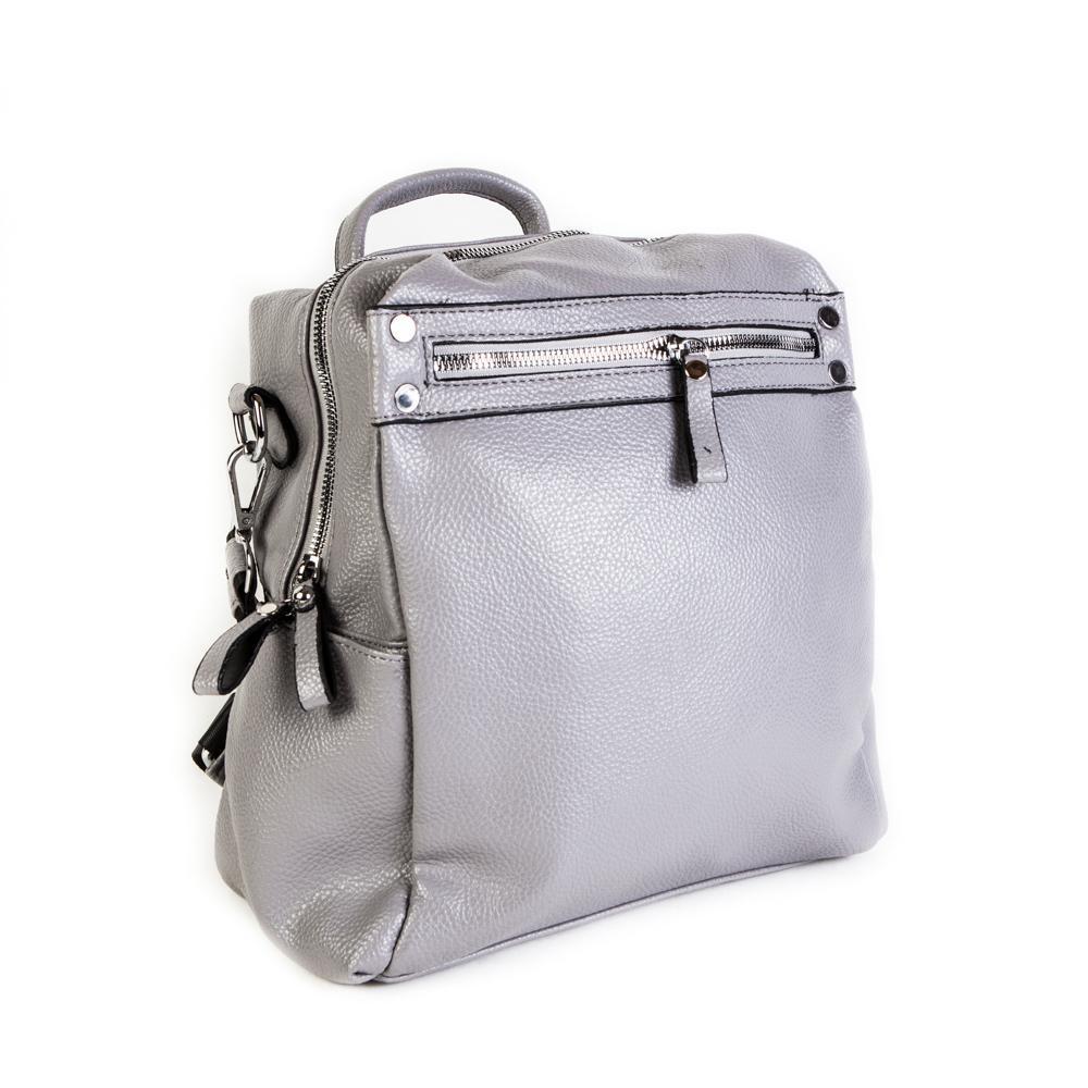 Женский средний рюкзак 29х32х12 см серый 4096-2-4
