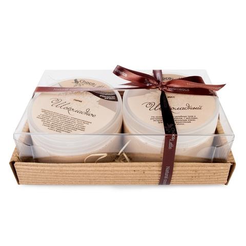 Набор подарочный №14 для волос ШОКОЛАД (МУСС для мытья 280 мл, маска ПАРФЕ 200 мл)/ТМ Сhocolatte