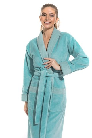 Бамбуковый женский халат Belette 735 PECHE MONNAIE Россия