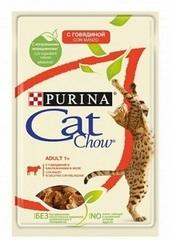 Purina Cat Chow пауч ( с говядиной в желе)