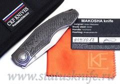 Нож Makosha (Макоша, Veksha 2.0, M390, титан, карбон)