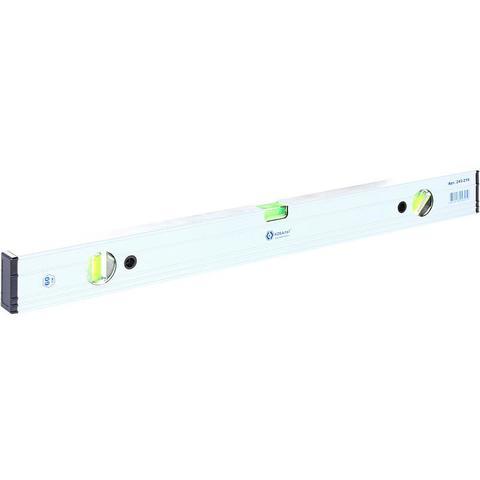 Уровень строительный КОБАЛЬТ Экстра, 600 мм, профиль 23 x 59 мм, 3 глазка, точность 0,5 мм/м