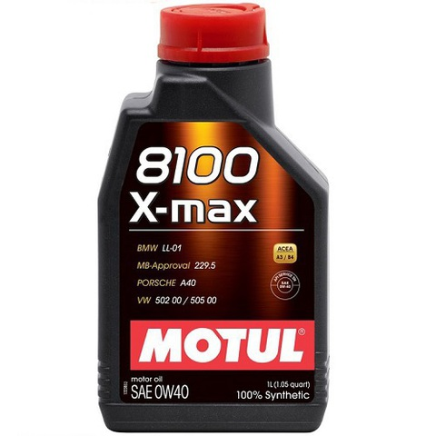 MOTUL 8100 X-max 0w40 Масло моторное