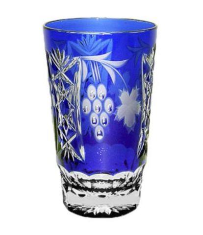 Стакан высокий 390мл Ajka Crystal Grape синий