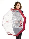 Barbour зонтик Raindrop Red