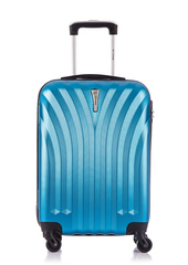 Чемодан со съемными колесами L'case Phuket-20 Синий ручная кладь (S)