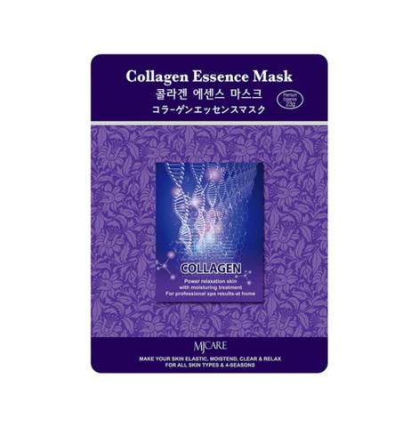 Маска для лица с коллагеном MIJIN COSMETICS Collagen Essence Mask 30гр